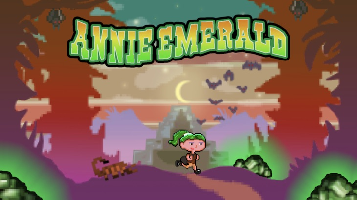Screenshot: Titel von Annie Emerald.